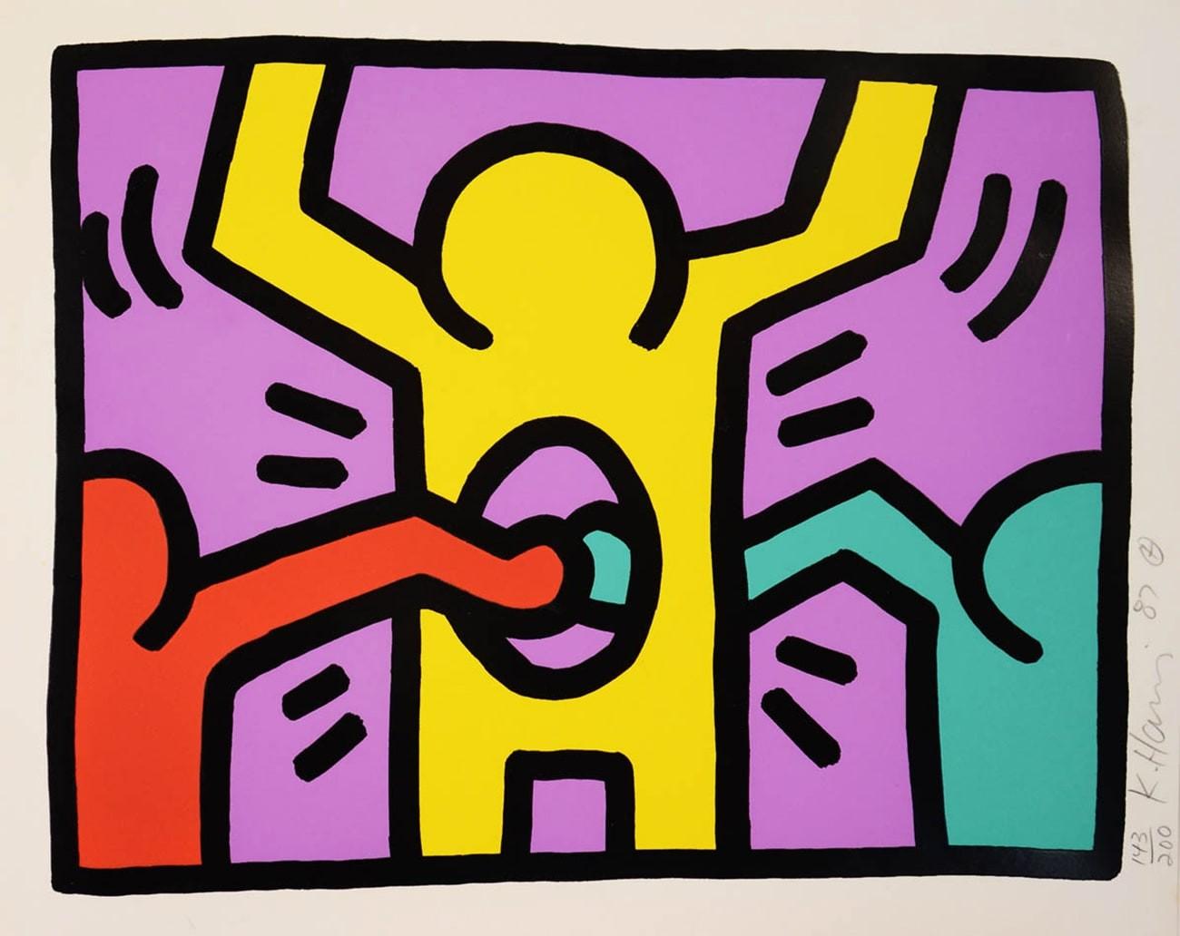 Keith Haring Figuren