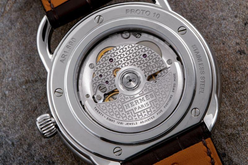 Hermes Newest Arceau L'heure de la Lune Features A Piece From Space