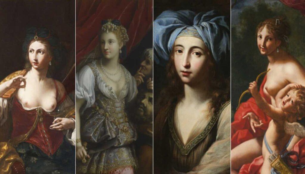 Le Signore dell'Arte storie di donne tra il 500 e il 600 mostra Palazzo Reale Milano