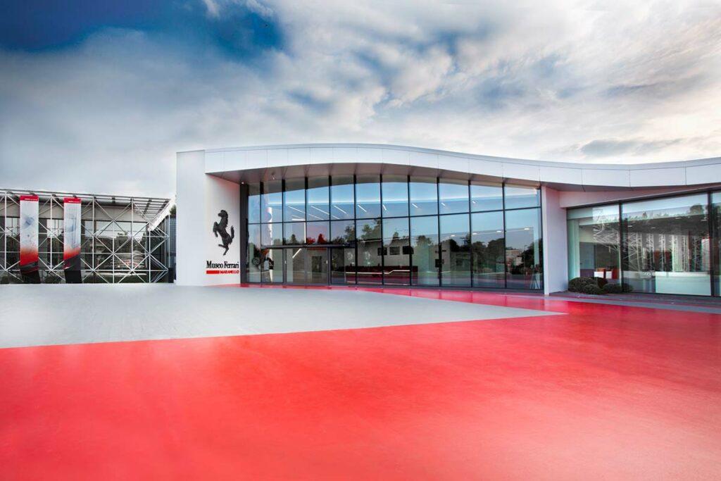 The Ferrari Museum Maranello Italy