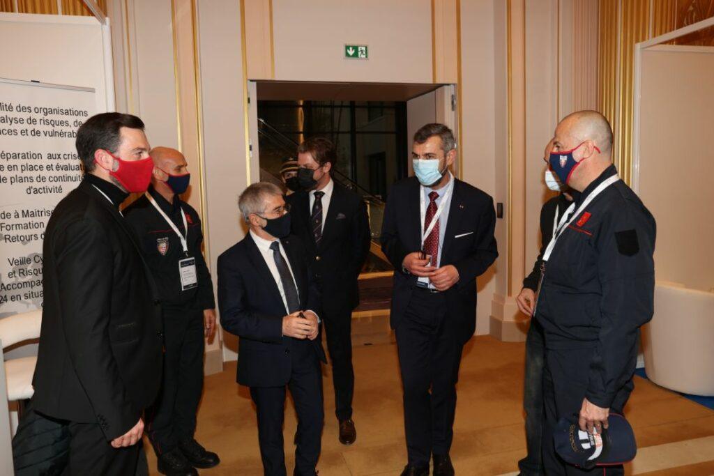 Visite Ministre de L'Intérieur Patrice Cellario