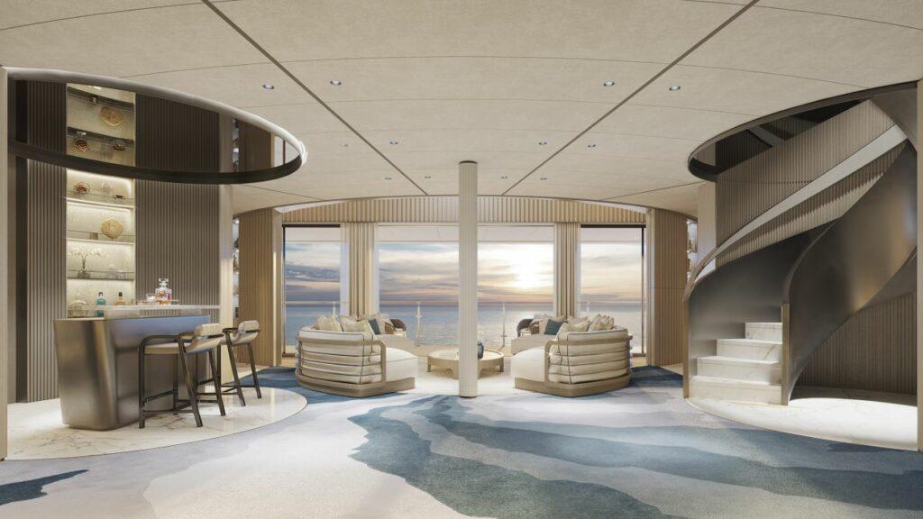 Interior design render by FM Architettura