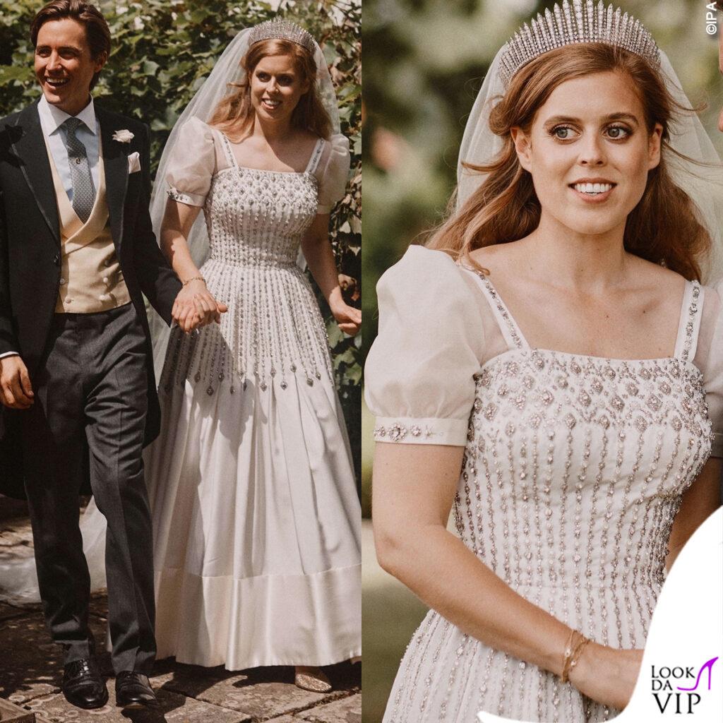abito da sposa vintage principessa Beatrice