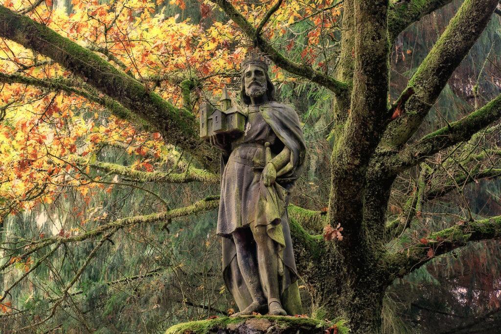 foret nature legende broceliande