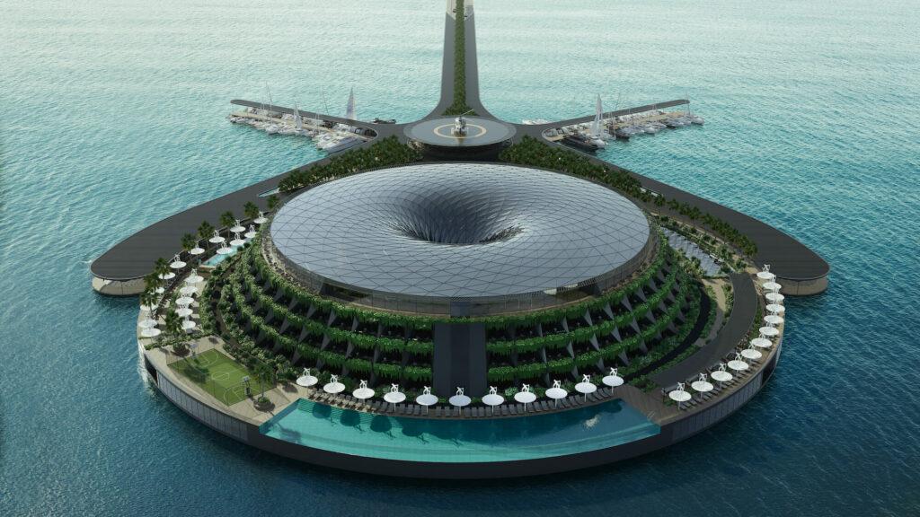 excellence magazine eco floating hotel