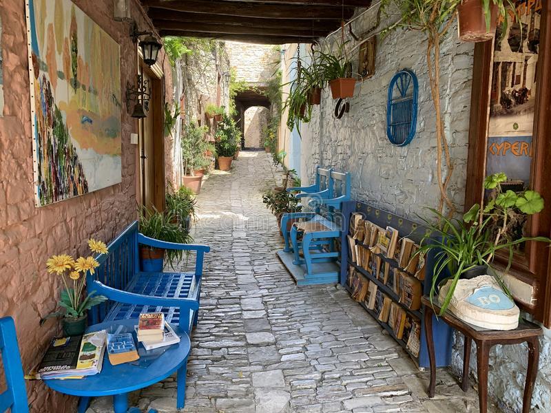 historical village lefkara cyprus