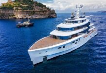 excellence magazine artefact yacht green