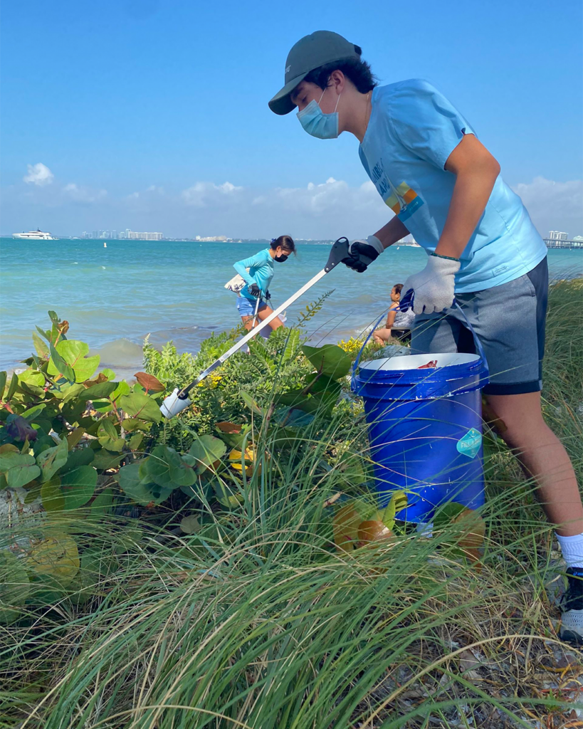 Cleanup seakeapers