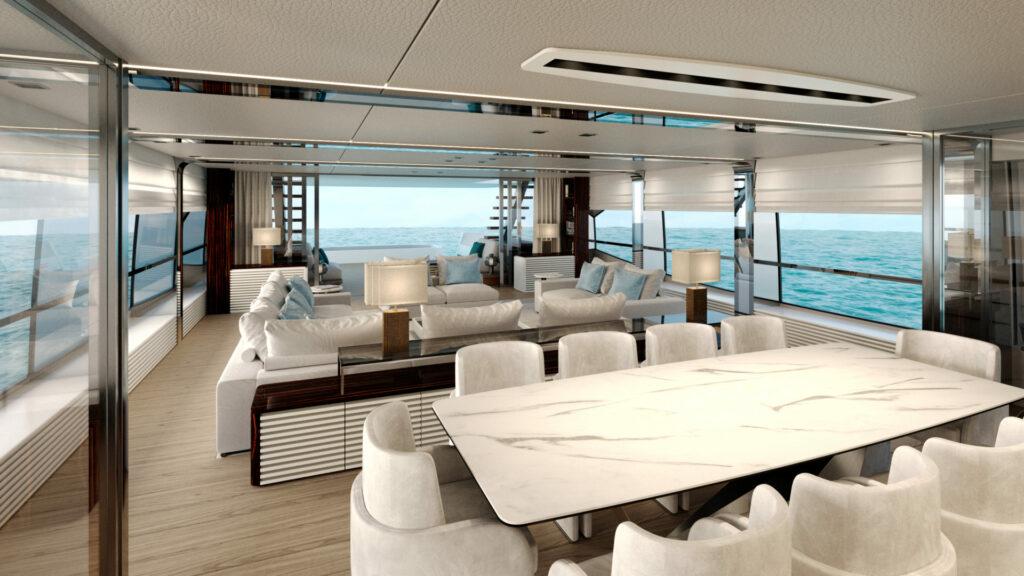 amer 120 yacht